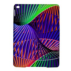 Colorful Rainbow Helix Ipad Air 2 Hardshell Cases by designworld65