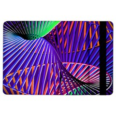 Colorful Rainbow Helix Ipad Air 2 Flip by designworld65