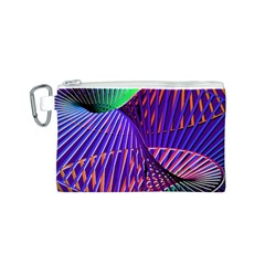 Colorful Rainbow Helix Canvas Cosmetic Bag (s) by designworld65