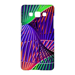 Colorful Rainbow Helix Samsung Galaxy A5 Hardshell Case  by designworld65