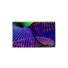 Colorful Rainbow Helix Cosmetic Bag (xs) by designworld65