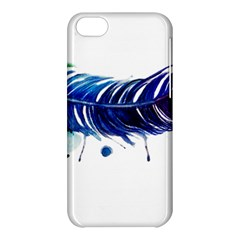 Watery Feather Apple Iphone 5c Hardshell Case by EverIris