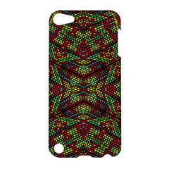 Mandela Check Apple Ipod Touch 5 Hardshell Case by MRTACPANS