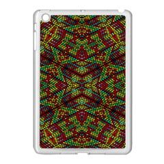 Mandela Check Apple Ipad Mini Case (white) by MRTACPANS