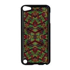 Mandela Check Apple Ipod Touch 5 Case (black) by MRTACPANS