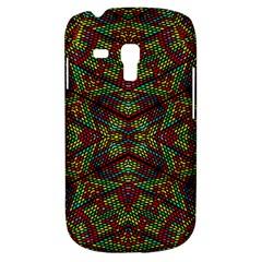 Mandela Check Samsung Galaxy S3 Mini I8190 Hardshell Case by MRTACPANS