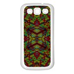 Mandela CHECK Samsung Galaxy S3 Back Case (White) Front