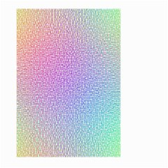 Rainbow Colorful Grid Large Garden Flag (two Sides) by designworld65