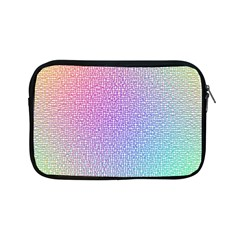 Rainbow Colorful Grid Apple Ipad Mini Zipper Cases by designworld65
