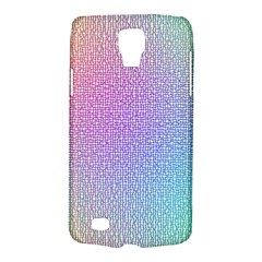 Rainbow Colorful Grid Galaxy S4 Active by designworld65