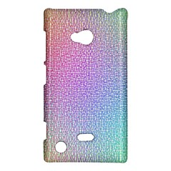Rainbow Colorful Grid Nokia Lumia 720 by designworld65