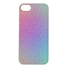 Rainbow Colorful Grid Apple Iphone 5s/ Se Hardshell Case by designworld65