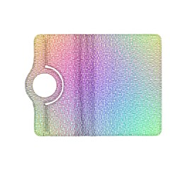 Rainbow Colorful Grid Kindle Fire Hd (2013) Flip 360 Case by designworld65