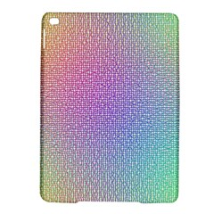 Rainbow Colorful Grid Ipad Air 2 Hardshell Cases by designworld65