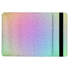 Rainbow Colorful Grid Ipad Air 2 Flip by designworld65