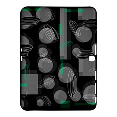 Come Down   Green Samsung Galaxy Tab 4 (10 1 ) Hardshell Case  by Valentinaart