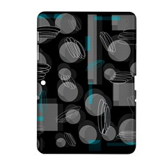 Come Down   Blue Samsung Galaxy Tab 2 (10 1 ) P5100 Hardshell Case  by Valentinaart