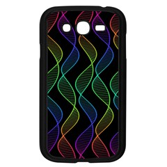 Rainbow Helix Black Samsung Galaxy Grand Duos I9082 Case (black) by designworld65