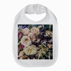 Pink And White Roses Bib by TailWags