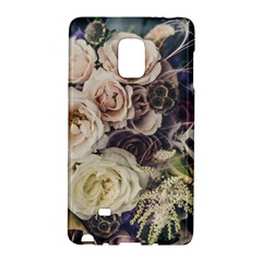 Pink And White Roses Galaxy Note Edge by TailWags