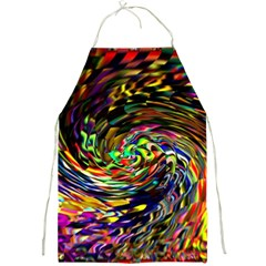Abstract Art, Colorful, Texture Full Print Aprons by AnjaniArt