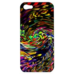 Abstract Art, Colorful, Texture Apple Iphone 5 Hardshell Case by AnjaniArt