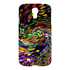 Abstract Art, Colorful, Texture Samsung Galaxy S4 I9500/i9505 Hardshell Case by AnjaniArt