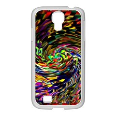 Abstract Art, Colorful, Texture Samsung Galaxy S4 I9500/ I9505 Case (white) by AnjaniArt