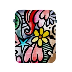 Abstract Doodle Apple Ipad 2/3/4 Protective Soft Cases