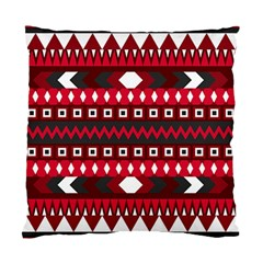Asterey Red Pattern Standard Cushion Case (two Sides)