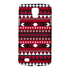 Asterey Red Pattern Galaxy S4 Active