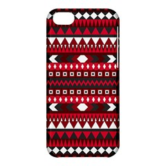 Asterey Red Pattern Apple Iphone 5c Hardshell Case