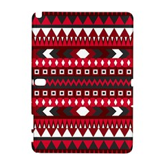 Asterey Red Pattern Samsung Galaxy Note 10 1 (p600) Hardshell Case