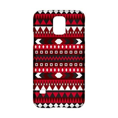 Asterey Red Pattern Samsung Galaxy S5 Hardshell Case
