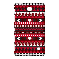 Asterey Red Pattern Samsung Galaxy Tab 4 (7 ) Hardshell Case