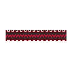 Asterey Red Pattern Flano Scarf (mini)