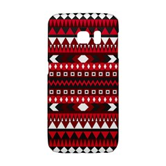 Asterey Red Pattern Galaxy S6 Edge