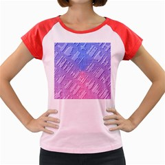 Baby Pattern Women s Cap Sleeve T Shirt