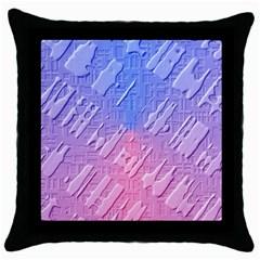 Baby Pattern Throw Pillow Case (black)