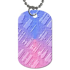 Baby Pattern Dog Tag (one Side)