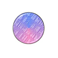 Baby Pattern Hat Clip Ball Marker (4 Pack)