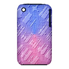 Baby Pattern Apple Iphone 3g/3gs Hardshell Case (pc+silicone)