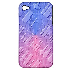 Baby Pattern Apple Iphone 4/4s Hardshell Case (pc+silicone)