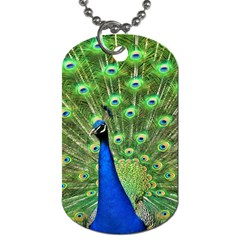Bird Peacock Dog Tag (two Sides)
