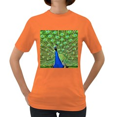 Bird Peacock Women s Dark T Shirt