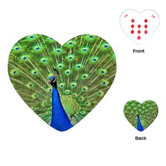 Bird Peacock Playing Cards (heart)