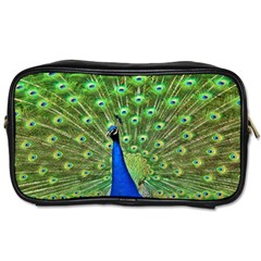 Bird Peacock Toiletries Bags 2 Side