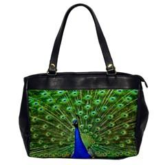 Bird Peacock Office Handbags