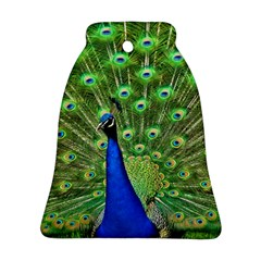 Bird Peacock Bell Ornament (2 Sides)