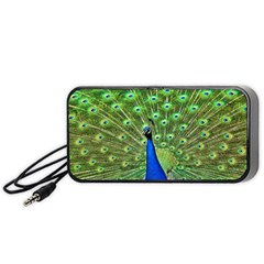Bird Peacock Portable Speaker (black)